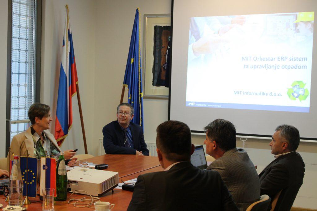 MIT informatika v Republiki Srbiji za dejavnost predelave odpadkov